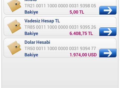 Finansbank Cep Şubesi Ekran Görüntüleri - 3