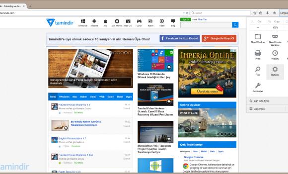 Firefox Portable Ekran Görüntüleri - 2
