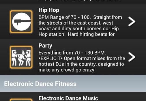 FIT Radio Workout Music Ekran Görüntüleri - 5
