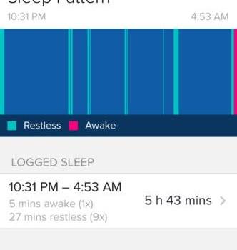 Fitbit Ekran Görüntüleri - 2