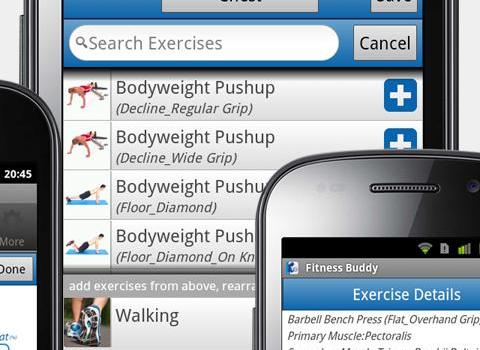Fitness Buddy FREE Ekran Görüntüleri - 4