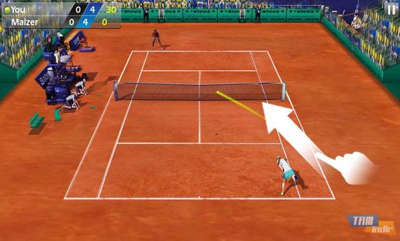 3D Tennis Ekran Görüntüleri - 4