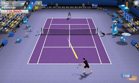 3D Tennis Ekran Görüntüleri - 2