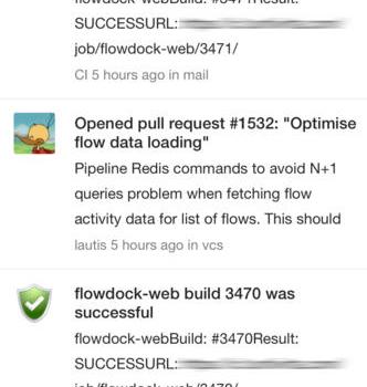Flowdock Ekran Görüntüleri - 1