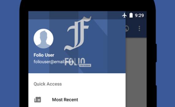 Folio for Facebook Ekran Görüntüleri - 2