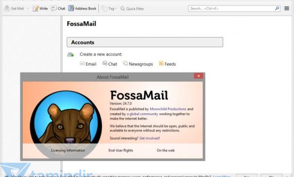 FossaMail Ekran Görüntüleri - 1