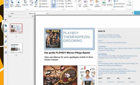 Foxit Reader Ekran Görüntüleri - 1