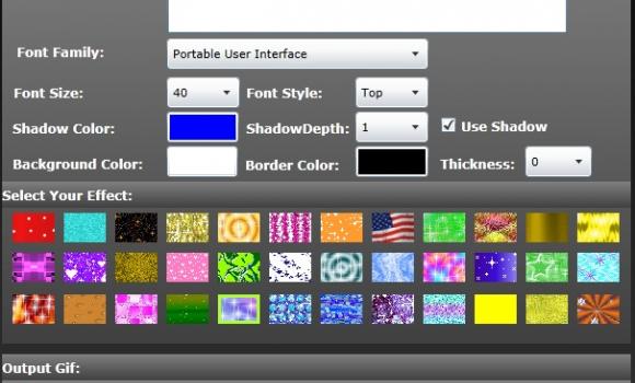 Free GIF Text Maker Ekran Görüntüleri - 1