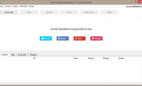 Free Torrent Download Ekran Görüntüleri - 1