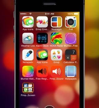Free Wallpapers for iOS 7 Ekran Görüntüleri - 4