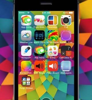 Free Wallpapers for iOS 7 Ekran Görüntüleri - 2