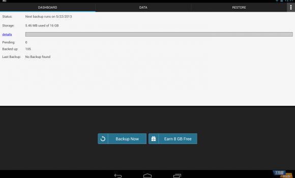 G Cloud Backup Ekran Görüntüleri - 5