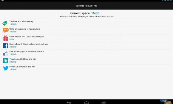 G Cloud Backup Ekran Görüntüleri - 2