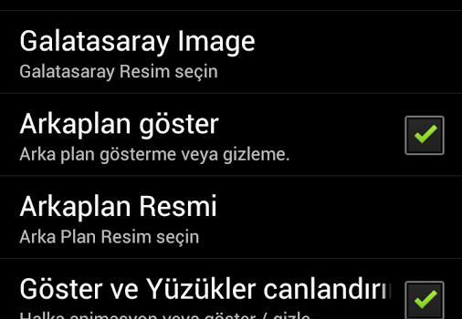 Galatasaray Canlı Duvar Kağıdı Ekran Görüntüleri - 1