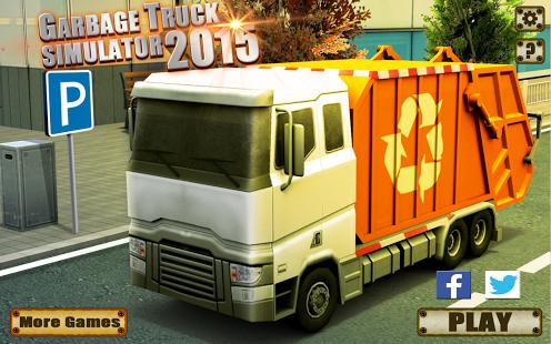 Garbage Truck Simulator 2015 Ekran Görüntüleri - 4