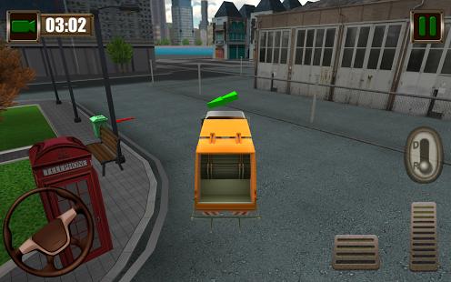 Garbage Truck Simulator 2015 Ekran Görüntüleri - 3