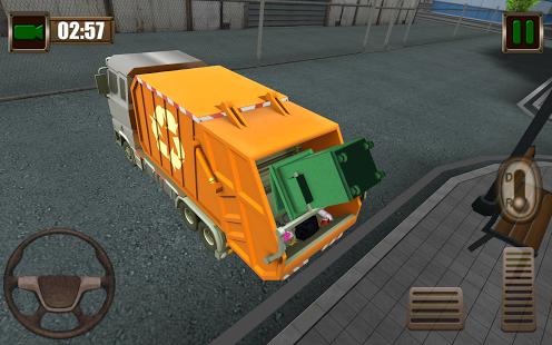 Garbage Truck Simulator 2015 Ekran Görüntüleri - 2