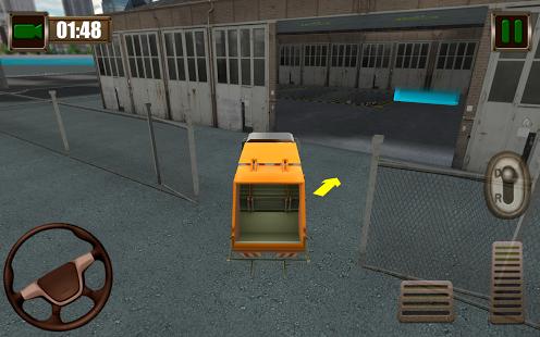Garbage Truck Simulator 2015 Ekran Görüntüleri - 1