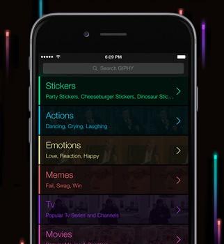 GIPHY For Messenger Ekran Görüntüleri - 3