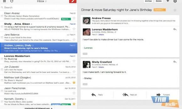 Gmail Offline Ekran Görüntüleri - 1