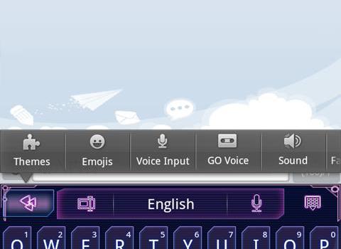 GO Keyboard Ekran Görüntüleri - 1