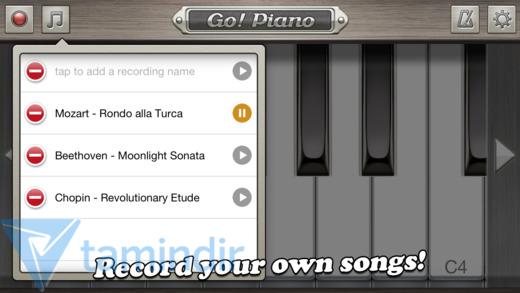 Go! Piano Ekran Görüntüleri - 2