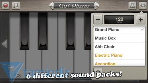 Go! Piano Ekran Görüntüleri - 1