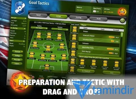 Goal Tactics Ekran Görüntüleri - 1