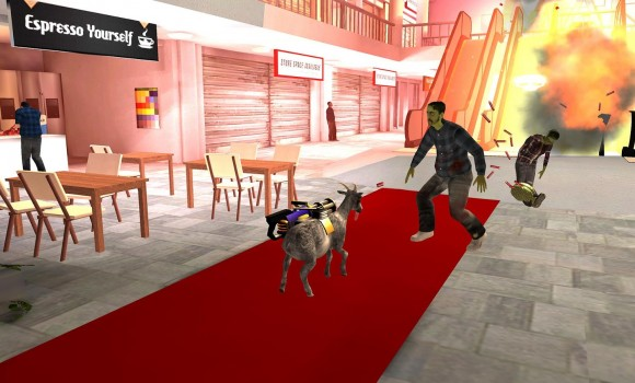 Goat Simulator GoatZ Ekran Görüntüleri - 1