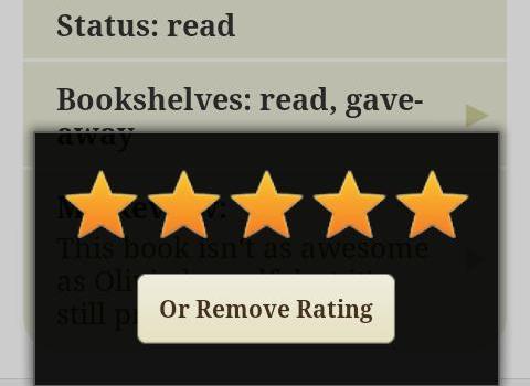 Goodreads Ekran Görüntüleri - 3
