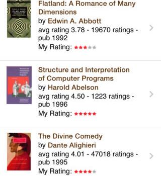 Goodreads Ekran Görüntüleri - 2