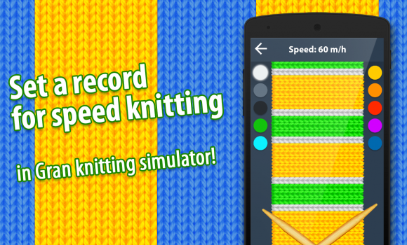 Gran Knit Simulator Ekran Görüntüleri - 1