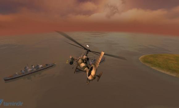 GUNSHIP BATTLE: Helicopter 3D Ekran Görüntüleri - 3