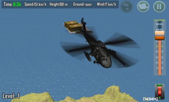 Gunship Carrier Helicopter 3D Ekran Görüntüleri - 3
