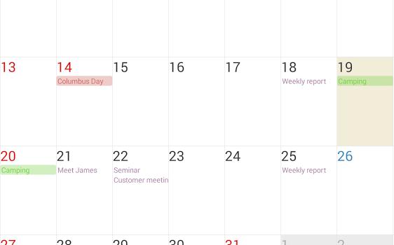 Guru Calendar Free Ekran Görüntüleri - 3