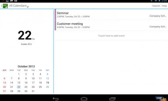 Guru Calendar Free Ekran Görüntüleri - 2