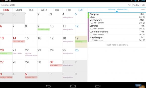 Guru Calendar Free Ekran Görüntüleri - 1