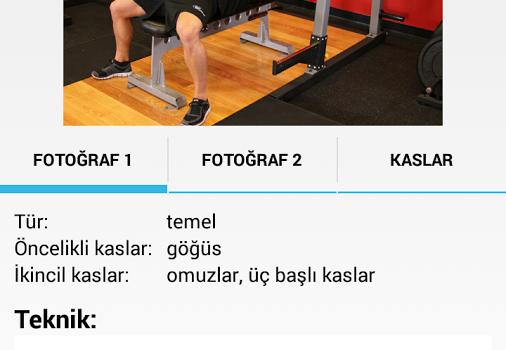 GymApp Ekran Görüntüleri - 4