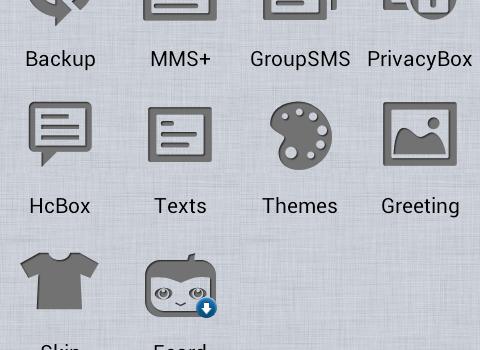 Handcent SMS Ekran Görüntüleri - 3