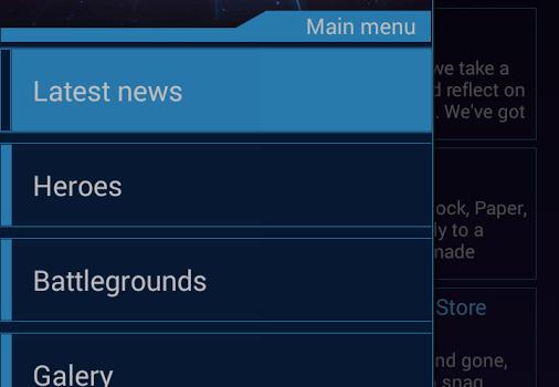 Heroes of the Storm Dashboard Ekran Görüntüleri - 5