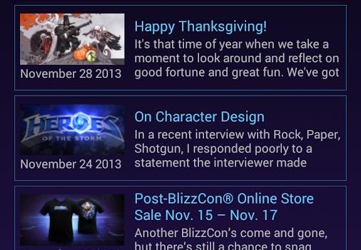 Heroes of the Storm Dashboard Ekran Görüntüleri - 2