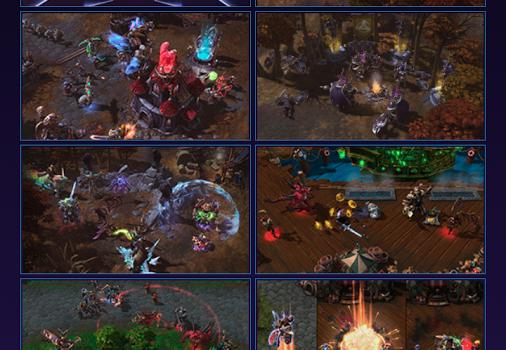 Heroes of the Storm Dashboard Ekran Görüntüleri - 1