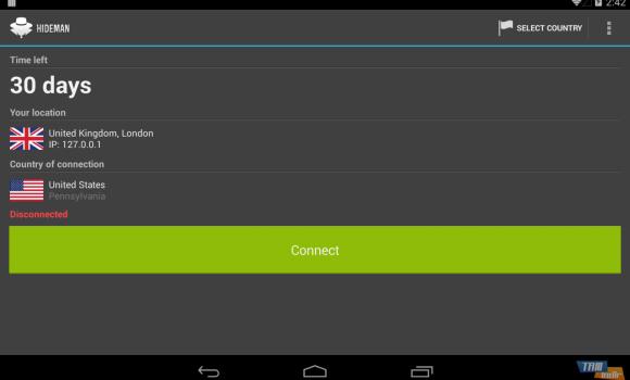 Hideman VPN Ekran Görüntüleri - 4