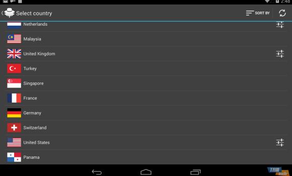 Hideman VPN Ekran Görüntüleri - 2