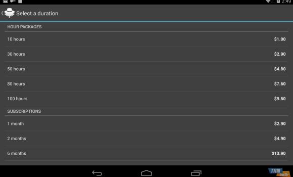 Hideman VPN Ekran Görüntüleri - 1