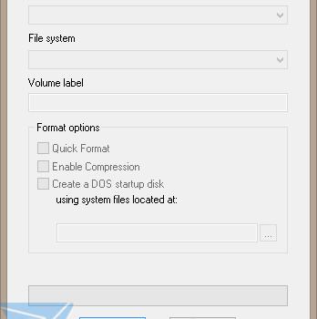 HP USB Disk Storage Format Tool Ekran Görüntüleri - 1