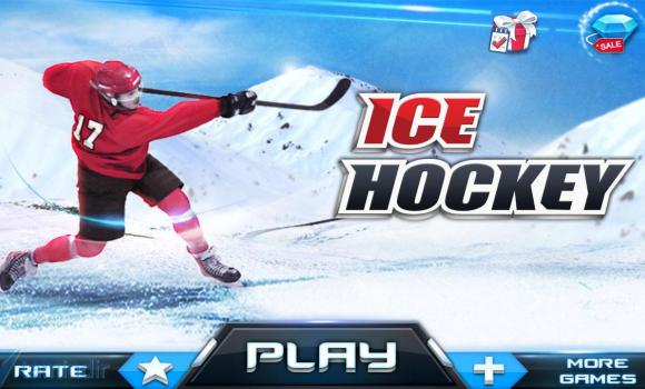 Ice Hockey 3D Ekran Görüntüleri - 4