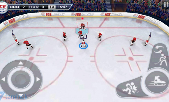 Ice Hockey 3D Ekran Görüntüleri - 3
