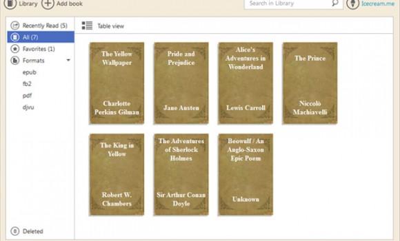 Icecream Ebook Reader Ekran Görüntüleri - 2