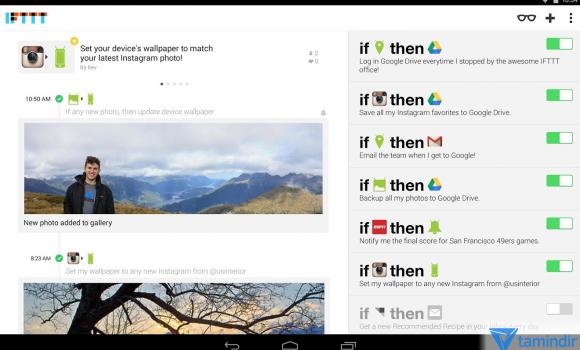 IFTTT Ekran Görüntüleri - 5